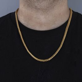 3mm Franco Box Chain in 18K Gold