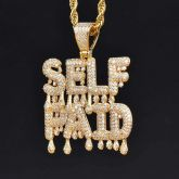 Self Paid Drip Pendant in Gold