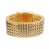 30mm 5 Rows Franco Wide Bracelet
