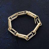 Paper Clip Bracelet