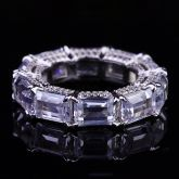 4.0 Ct Radiant Cut Eternity Band