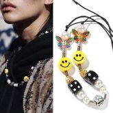 Fashion Smile Beads Necklace