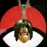 Sasuke Pendant in White Gold