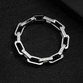 Titanium Steel Rectangle Bracelet