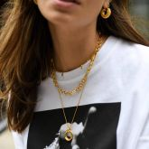 3D Figaro Chain Necklace