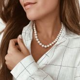 "9.5-10mm 18"" Pearl Necklace"