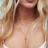 Custom Iced Name Chain Necklace for Women