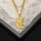 ST. Christopher Pendant in Gold