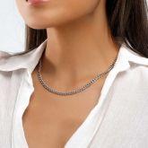Women's 5mm Stainless Steel Cuban Link Chain
