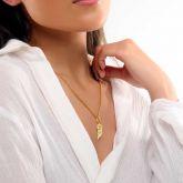 Women's Angel Wings Pendant in Gold
