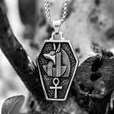 Egyptian Ankh Cross Anubis Pendant