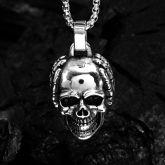 Dark Stainless Steel Pendant