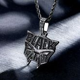 """Iced """"Black Panther"""" Head Pendant"""
