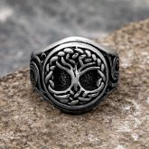 Tree of Life Celtic Stainless Steel Ring