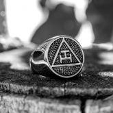 Viking Biker Stainless Steel Ring