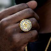 Two-tone Masonic Ring