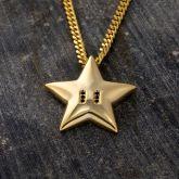 Star Pendant in Gold