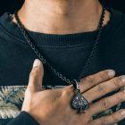 """Franco Chain 24"""" in Black"""