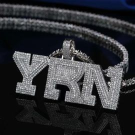 Iced YRN Pendant