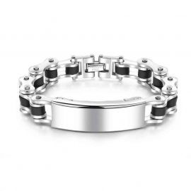 Stainless Steel Engraving Bracelet