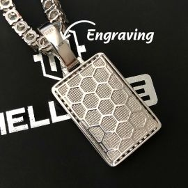 3D Playing Card Pendant Free Engraving