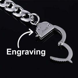 Handcuffs Cuban Bracelet