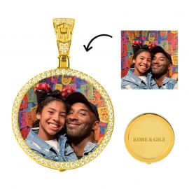 Custom Medium Size Photo Pendant
