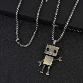 Titanium Steel Robot Pendant