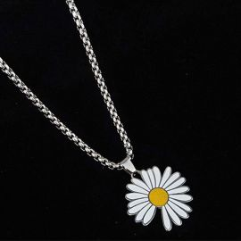 Daisy Stainless Steel Pendant