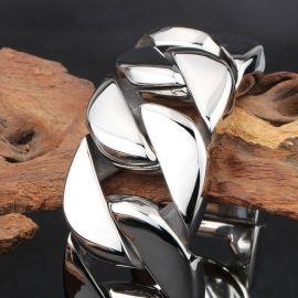 31mm 316L Stainless Steel Cuban Bracelet