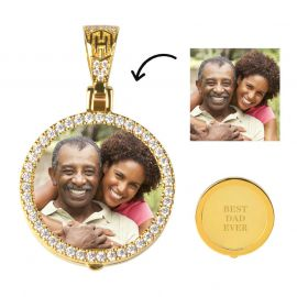 Custom Small Size Photo Pendant