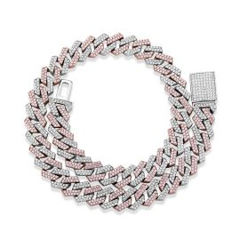 Two-Tone 14mm Miami Cuban Chain with Box Clasp