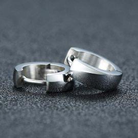 Stainless Steel Hoop Earrings