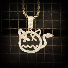 Little Devil Pendat in Gold