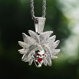 Iced Super Villain Pendant