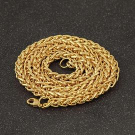 2.5mm 18K Gold Franco Chain