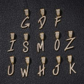 Iced 26 Letters Pendant