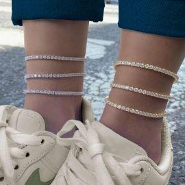 3mm Adjustable Tennis Anklet