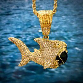 Shark Bomb Pendant