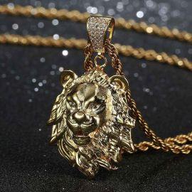 Gold Lion Pendant