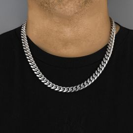 12mm 316L Stainless Steel Cuban Chain