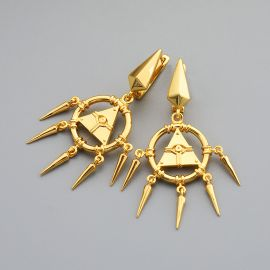Unique Eye of Horus Dangle Earrings