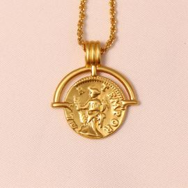Roman Arc Coin Pendant