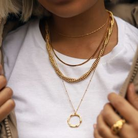 Marina Double Chain Necklace