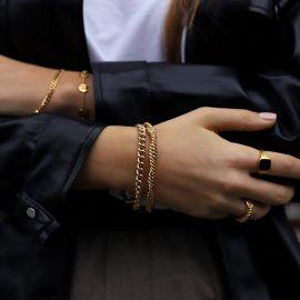 Marina Double Chain Bracelet