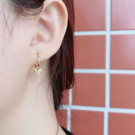 Iced Butterfly Earring