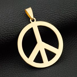 Anti-war Peace Sign Pendant