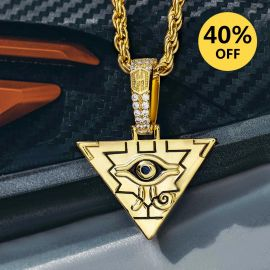 Egyptian Pyramid Eye of Horus Pendant