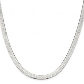 6mm Titanium Steel Herringbone Chain