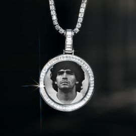 Legend Diego Maradona Memory Pendant